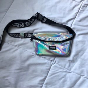 PINK Holographic Fanny Pack